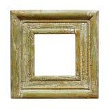 Cadre de tableau carré affligé Photographie stock