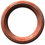 Cadre de tableau circulaire Photos stock