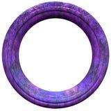 Cadre de tableau circulaire Images libres de droits