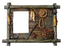 Cadre de tableau décoratif Photo libre de droits