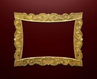 Cadre de tableau décoratif Photographie stock libre de droits