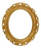 Cadre de tableau décoratif ovale Image libre de droits