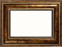 Cadre de tableau d'or photographie stock libre de droits
