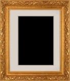 Cadre de tableau d'or Image libre de droits