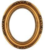 Cadre de tableau d'or de cru Photographie stock