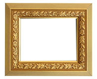Cadre de tableau d'or de cru photos libres de droits