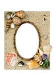 Cadre de tableau d'interpréteur de commandes interactif de mer Photographie stock libre de droits