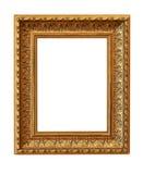 Cadre de tableau d'isolement sur le blanc Photo libre de droits