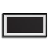 Cadre de tableau d'isolement sur le fond blanc Images stock