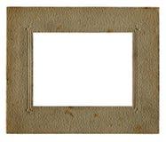 Cadre de tableau de cru et intérieur blanc Photos stock