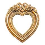 Cadre de tableau de forme de coeur Photos libres de droits