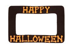 Cadre de tableau de Halloween Photo libre de droits