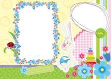 Cadre de tableau des enfants Images stock