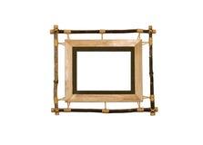 Cadre de tableau en bois photos libres de droits