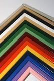 Cadre de tableau en bois Photographie stock libre de droits