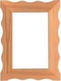 Cadre de tableau en bois images stock