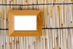 Cadre de tableau en bois Photo libre de droits