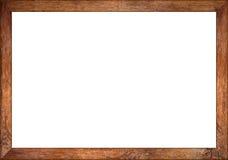 cadre de tableau en bois de vintage de chêne du rapport 3to2 rétro Photos libres de droits