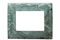Cadre de tableau en pierre approximatif sur W Images stock