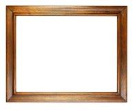 Cadre de tableau foncé de chêne Photos stock