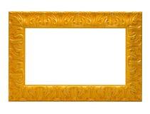 Cadre de tableau jaune Photos libres de droits