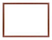 Cadre de tableau mince en bois Photo libre de droits