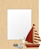 Cadre de tableau nautique Image stock