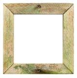 Cadre de tableau ou signe en bois sale Photographie stock