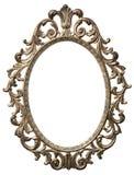 Cadre de tableau ovale décoratif Photos libres de droits
