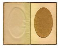 Cadre de tableau ovale de cru Image libre de droits