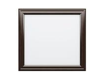 Cadre de tableau réaliste d'isolement sur le fond blanc Photo libre de droits