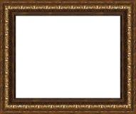 Cadre de tableau rustique antique d'isolement Image stock