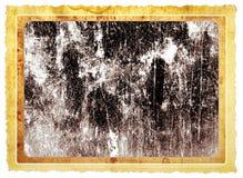 Cadre de tableau sale Photo libre de droits