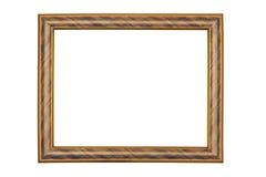 Cadre de tableau sur le fond blanc Photos stock