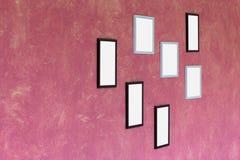Cadre de tableau vide Photos libres de droits