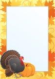 Cadre de thanksgiving Photos libres de droits