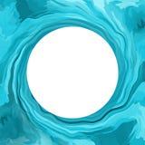 Cadre de vague d'eau illustration de vecteur