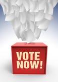 Cadre de vote Photos stock