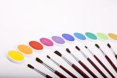 Cadre de Water-color Photo stock