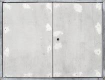 Cadre de Windows sur la photo de fond de mur de ciment Photographie stock