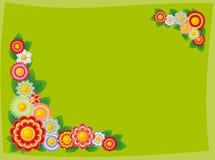 Cadre des fleurs illustration stock