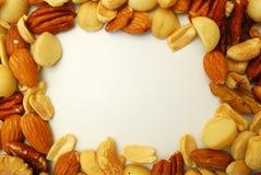 Cadre des noix Photos libres de droits