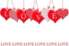 Cadre du `s de Valentine Photographie stock libre de droits