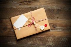 Cadre emballé enveloppé par colis Images stock