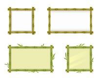 Cadre en bambou illustration de vecteur