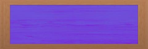 Cadre en bois avec le fond peint moderne Grande trame en bois Vieux cadre vide en bois de grange Vieux cadre de tableau d'isoleme Photos libres de droits