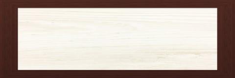 Cadre en bois avec le vieux fond Grande trame en bois Vieux cadre vide en bois de grange Vieux cadre de tableau d'isolement sur l Image libre de droits
