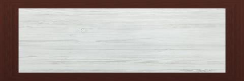 Cadre en bois avec le vieux fond Grande trame en bois Vieux cadre vide en bois de grange Vieux cadre de tableau sur le fond Photos stock