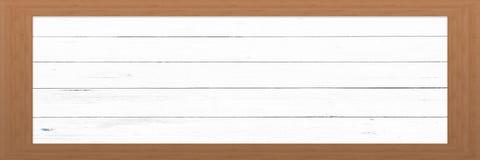 Cadre en bois avec le vieux fond Grande trame en bois Vieux cadre vide en bois de grange Vieux cadre de tableau sur le fond Images libres de droits