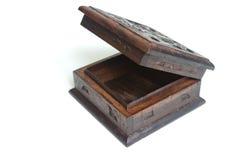 Cadre en bois découpé de vieux type Photographie stock libre de droits